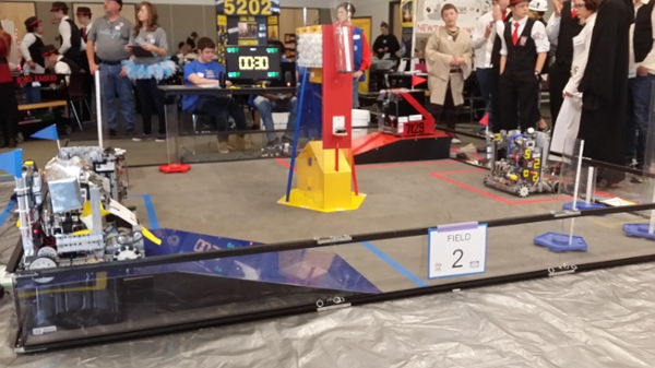 First Robotics Competition At The Tec